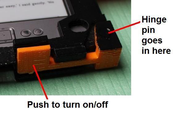 Assemble the power button