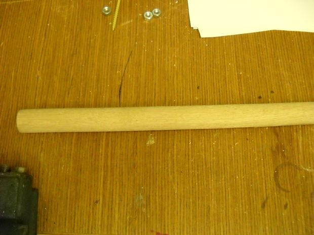 Cut wood to size, shape