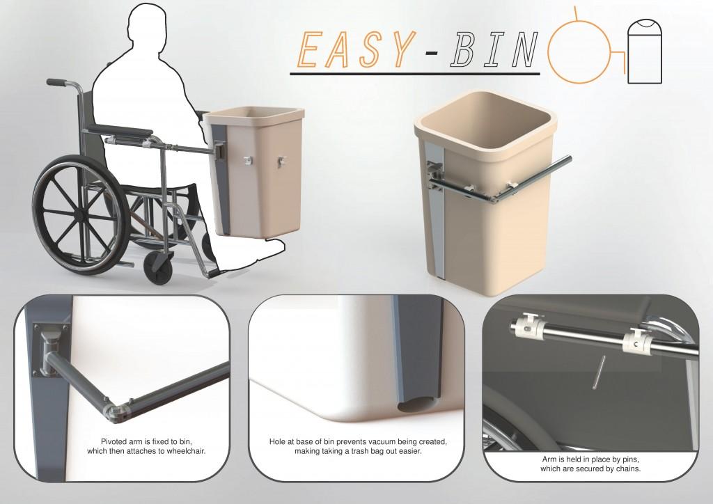 Easy-Bin Presentation Board